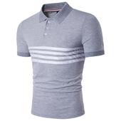 Мъжка спортна риза с якичка