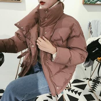 Χειμερινό σακάκι σε δύο χρώματα με ψηλό γιακά