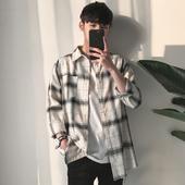 Стилна ежедневна мъжка карирана риза