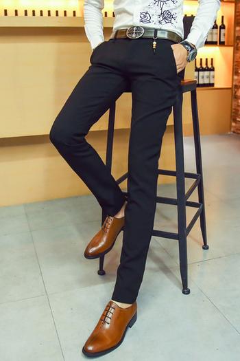 Много стилен мъжки официален панталон в два цвята