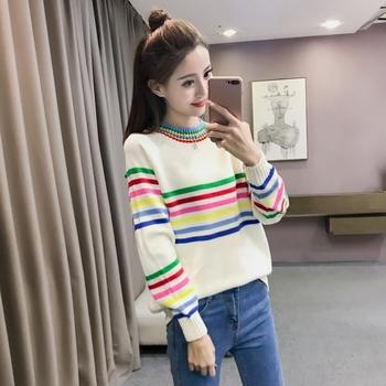 Сладък есенно-зимен дамски пуловер