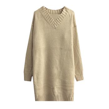 Много мек пуловер плетиво широк модел в три цвята